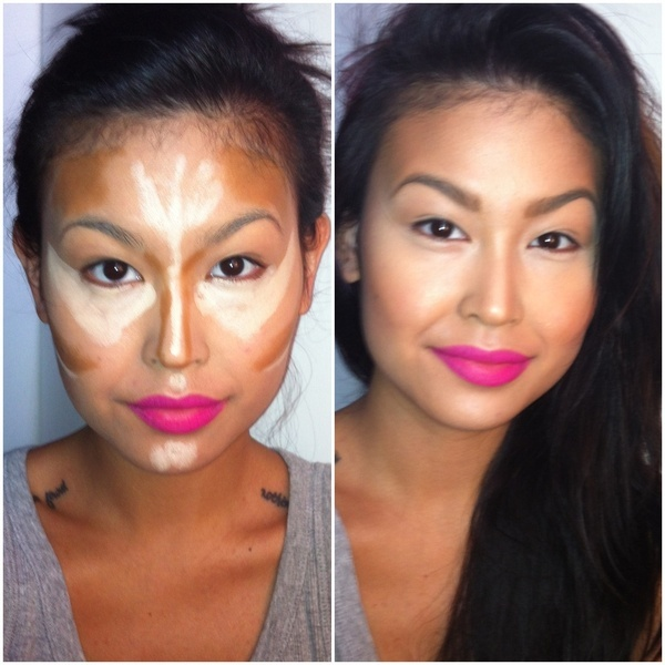 Contour and Highlight w Results
