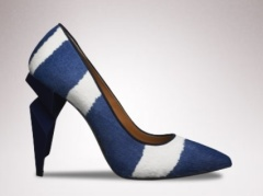 Fendi Striped Pump