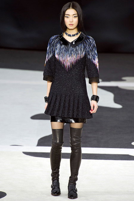 Chanel Fall RTW 2013 Look 23