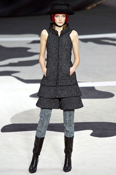 Chanel Fall RTW 2013 Look 24