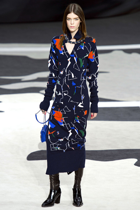 Chanel Fall RTW 2013 Look 36