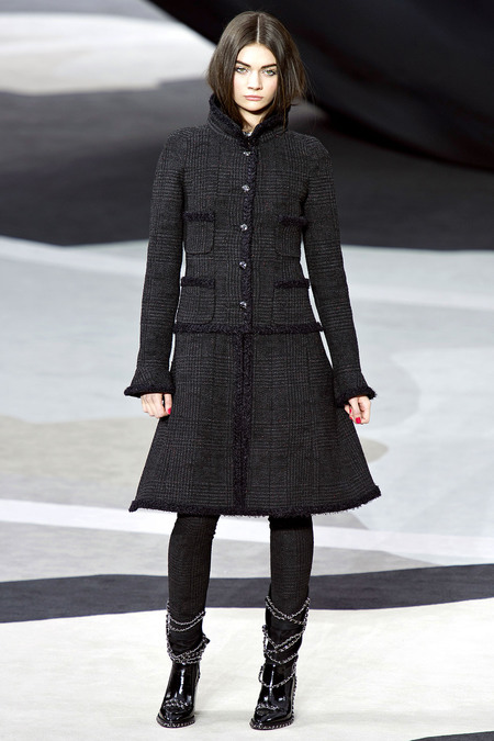 Chanel Fall RTW 2013 Look 41