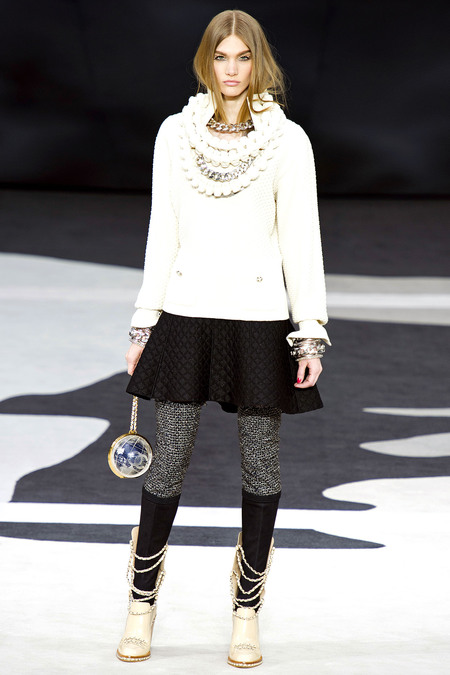 Chanel Fall RTW 2013 Look 49