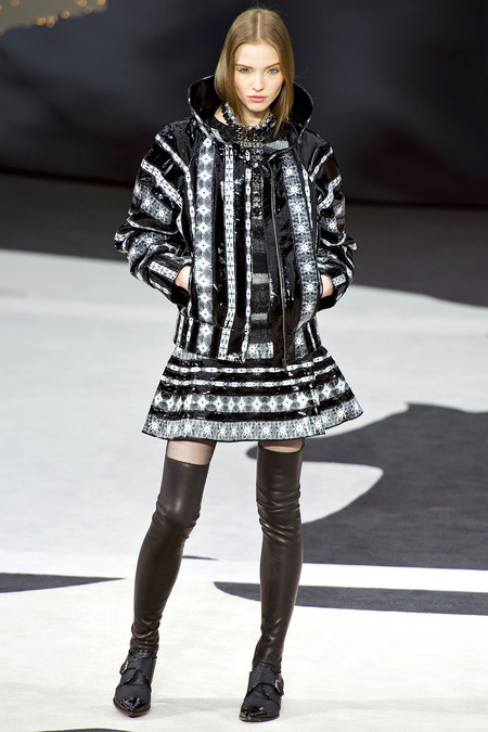 Chanel Fall RTW 2013 Look 64