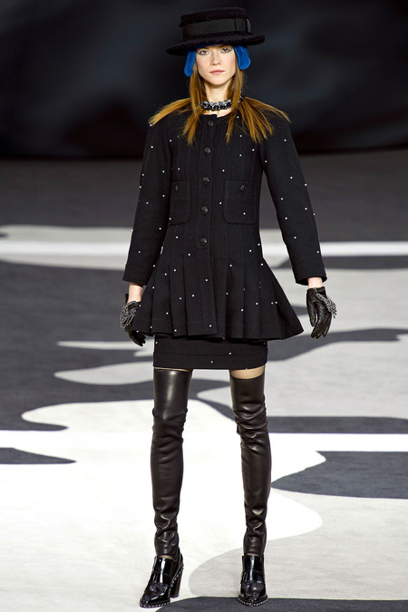 Chanel Fall RTW 2013 Look 68