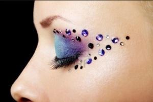 Embellished Eye Makeup