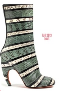 Fall 2013 Print Bootie